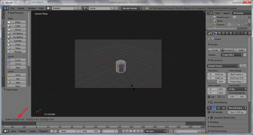 Как создать лоу-поли дерево в программе Blender?