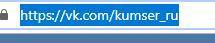 Как сделать ссылку Вконтакте, словом?