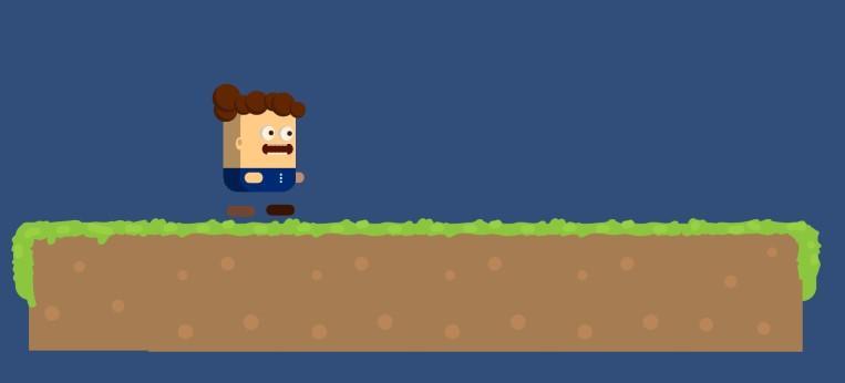Как сделать прыжок на Unity 3D