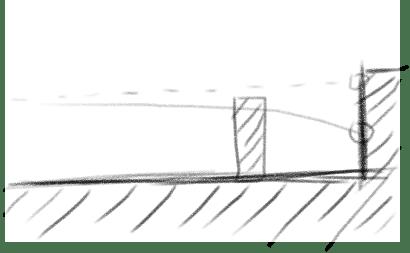 Пример как пуля пролетает препятствие
