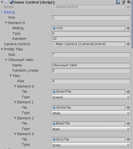 Генерация карты в Unity